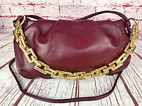Женская сумка в стиле Bottega Veneta. Клатч The Pouch. Сумка через плечо. КС30-1, фото 1