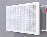 Декоративная решетка на батарею SMARTWOOD | Экран для радиатора | Накладка на батарею 600*300, фото 2