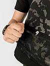Рюкзак Intruder черного цвета с серым рисунком камуфляж, фото 5