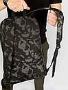 Рюкзак Intruder черного цвета с серым рисунком камуфляж, фото 7
