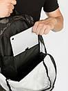 Рюкзак Intruder черного цвета с серым рисунком камуфляж, фото 9