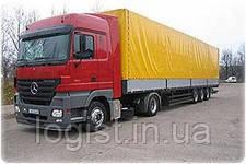 Перевозки 20-ти тонными автомобилями по Львовской области