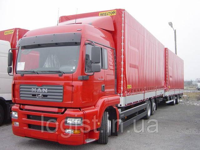Автопоезда для перевозки грузов по Львовской области