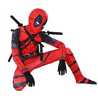 Костюм Дэдпул Deadpool детский, материал спандекс L (120 см-130 см) Aurora
