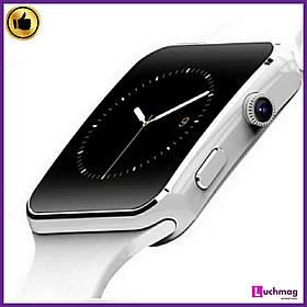 Розумні годинник Smart Watch X6 White