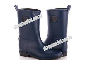 "Сапоги женские Y2X608P синий (6 пар р.36-41) ""Class Shoes"" 2P/SL-3421"