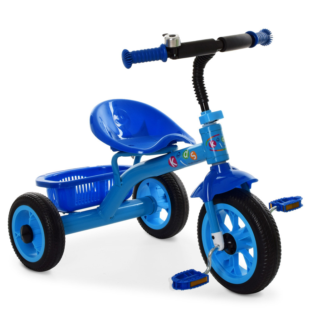 """*Детский велосипед """"Гномик"""" трехколесный ProfiKids (СИНИЙ) арт. 3252"""