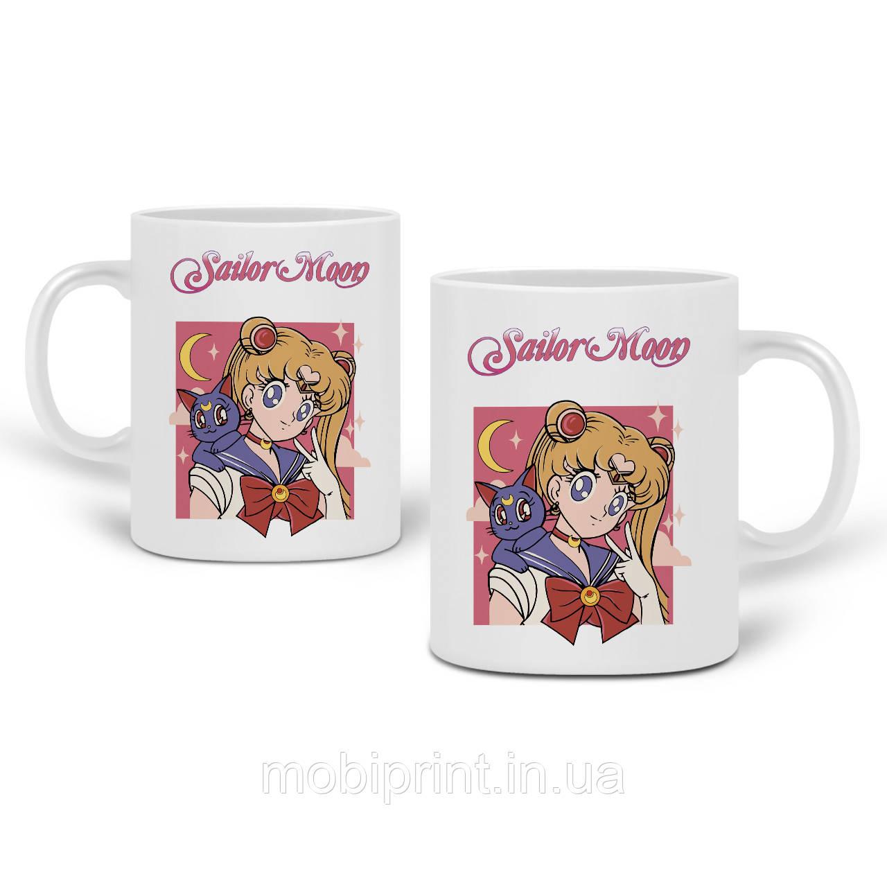 Кружка Сейлор Мун (Sailor Moon) 330 мл Чашка Керамічна (20259-2659)