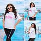 Белая женская молодёжная футболка SUN KISSED, фото 2