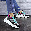 Жіночі кросівки Fashion Carrissa 1757 37 розмір 23 см Чорний, фото 5