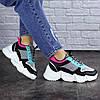 Жіночі кросівки Fashion Carrissa 1757 37 розмір 23 см Чорний, фото 6