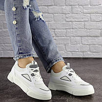 Жіночі кросівки Fashion Dusty 1616 38 розмір 23 см Білий 39, фото 3