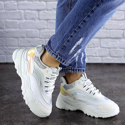 Жіночі кросівки Fashion Ferris 1749 37 розмір 23 см Білий, фото 2