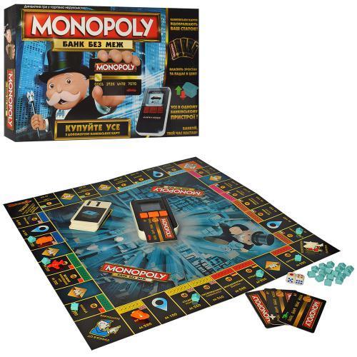 """Настільна гра """"Монополія"""" електронна арт. 002"""