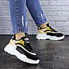Женские кроссовки Fashion Ferris 1760 36 размер 23 см Черный, фото 6