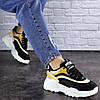 Женские кроссовки Fashion Ferris 1760 36 размер 23 см Черный, фото 3