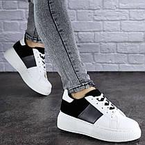 Жіночі стильні кросівки Fashion Rory 1169 36 розмір 23 см Білий, фото 3