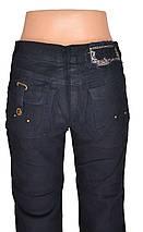 Черные брюки под вельвет (арт. W3792), фото 3