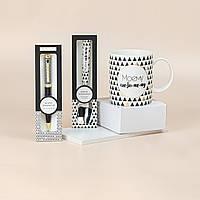 """Подарочный набор из кружки, ложки и ручки B&G """"Моему любимому"""", фото 1"""