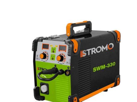 Сварочный инверторный полуавтомат STROMO SWМ-330 (ЕВРОРУКАВ)| Poland Видеообзор., фото 2