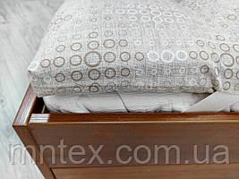 Топпер з конопляного волокна покриття бязь преміум кільця
