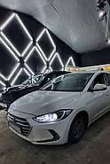 Установка ксенона на Hyundai Elantra 2014 г.в.
