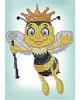 """Схема для часткової вишивки бісером """" Пчелка Майя"""" А6-Д-046"""