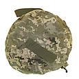 Баул армейский из кордуры 105 литров Digital ВСУ 8849, фото 5