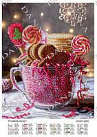"""Схема для вишивки бісером """"Рожевий десерт"""" D-2480"""
