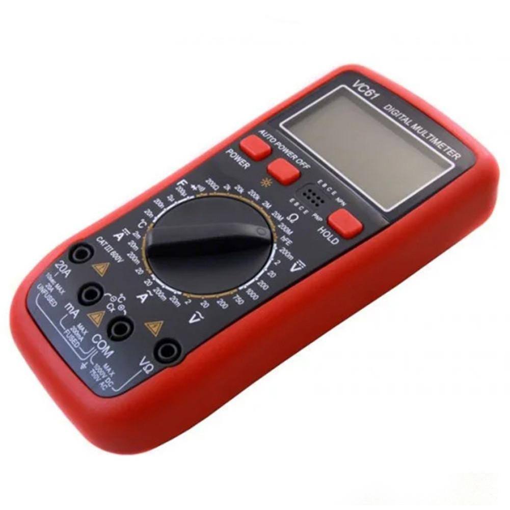 Мультиметр цифровий тестер струмові кліщі вольтметр DT VC 61