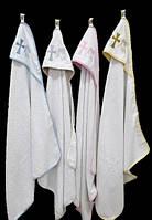 Полотенце-крыжма для крещения, с уголком 92*92 380г/м2 (TM Zeron), Турция, 4 цвета