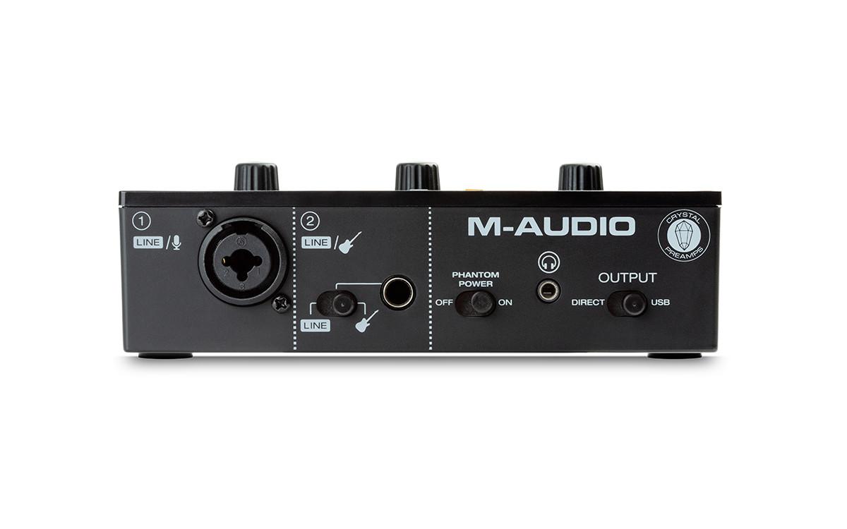 Портативный аудио интерфейс M-AUDIO M-Track Solo