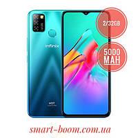"""Смартфон Infinix Hot 10 Lite Green 6.6"""" 2/32Gb 5000mAh Helio A20"""