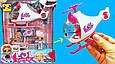 Игровой набор Спасательный Вертолет ЛОЛ 2 куклы LOL, фото 7