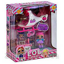 Игровой набор Спасательный Вертолет ЛОЛ 2 куклы LOL