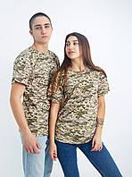 Женская защитная футболка, хлопок 100% плотность 160 г на кв м , футболка камуфляж