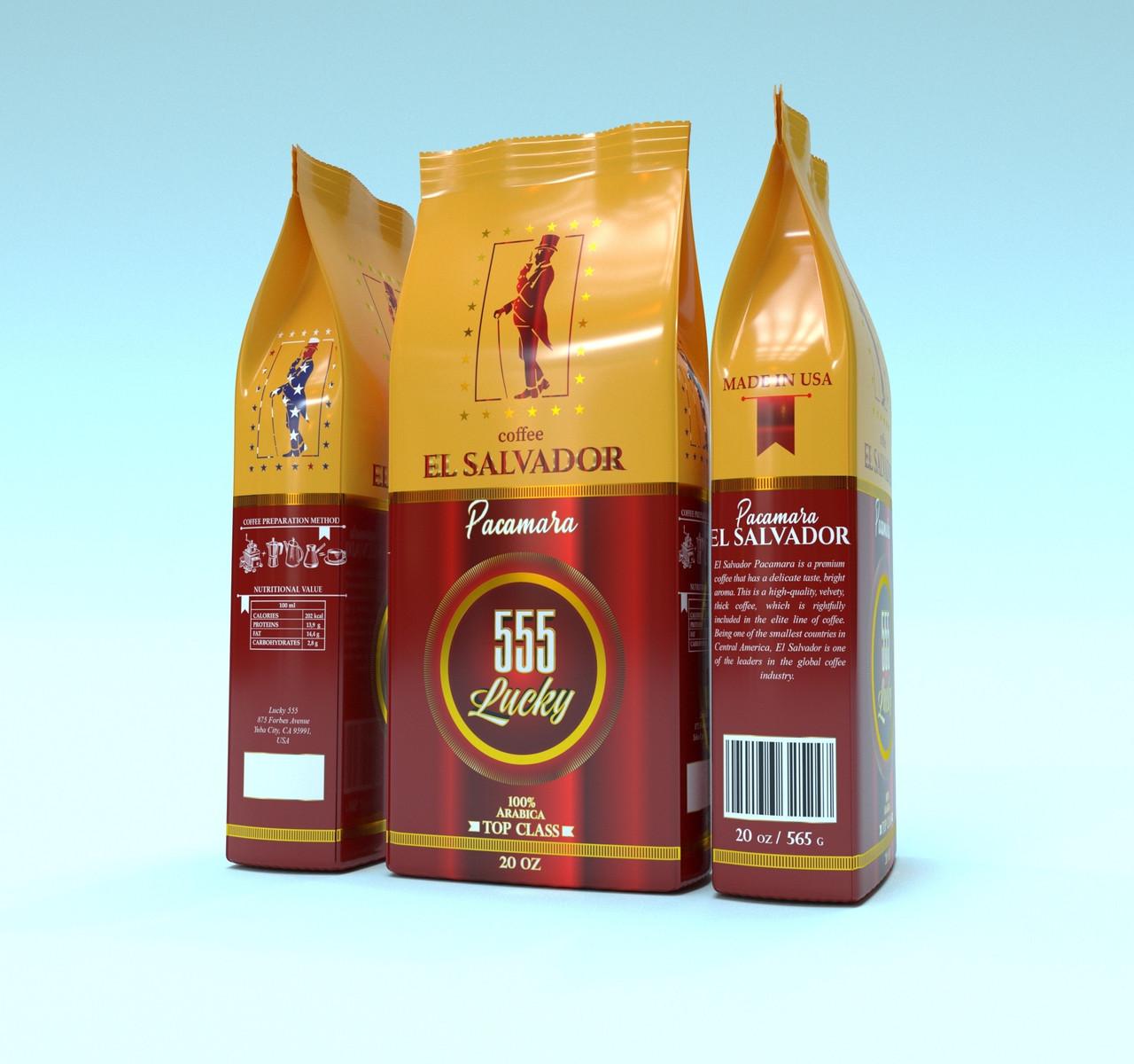 Lucky El Salvador Pacamara 565 р. зерно