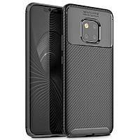 Чехол Carbon Case Huawei Mate 20 Pro Черный