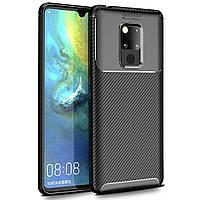 Чехол Carbon Case Huawei Mate 20 Черный