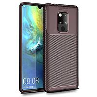 Чехол Carbon Case Huawei Mate 20 Коричневый