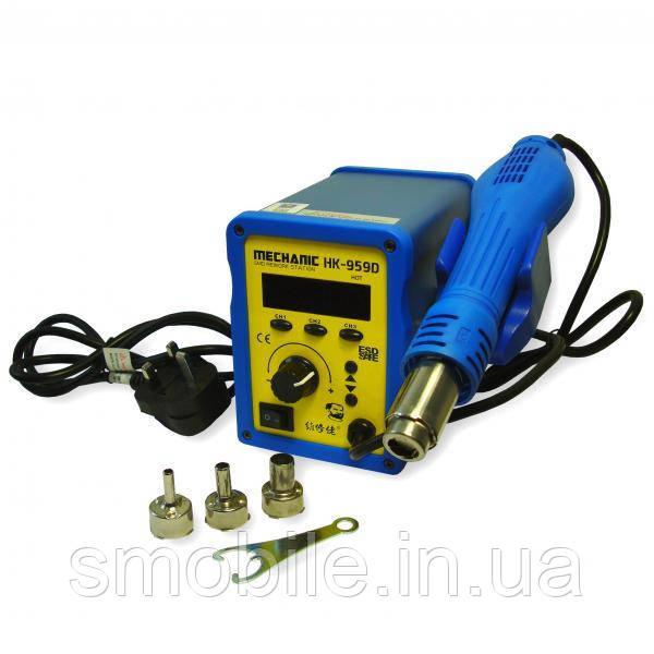 MCN (tools) Термовоздушная паяльна станція Mechanic HK-959D (фен з вентилятором в ручці)