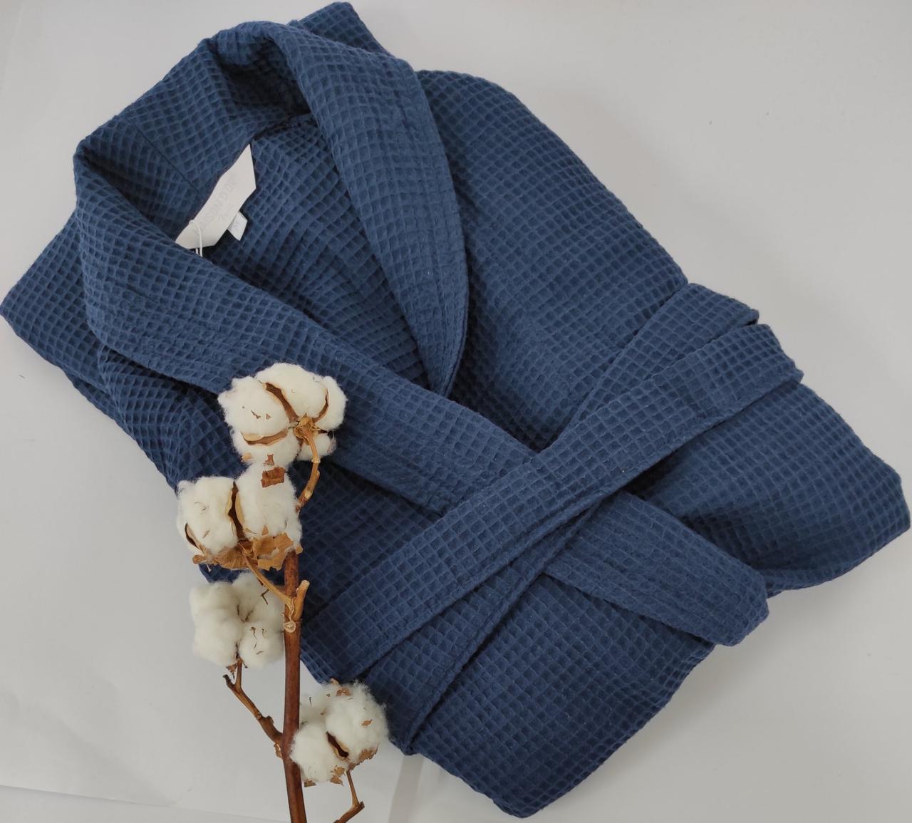 Халат мужской Maison D'or Brise APE Navi Blue L