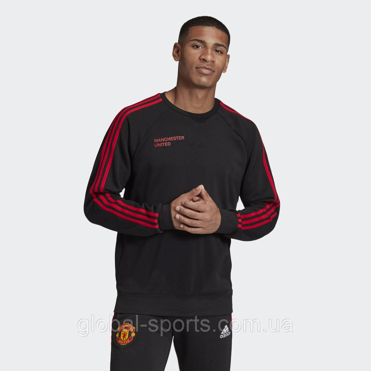 Чоловічий джемпер Adidas Manchester Graphic(Артикул:FR3841)
