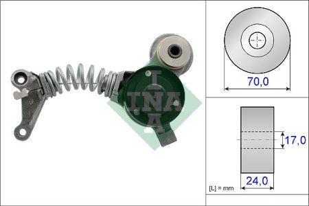 Натягувач ременя AUDI A4, A6, A8. INA. 534 0419 10