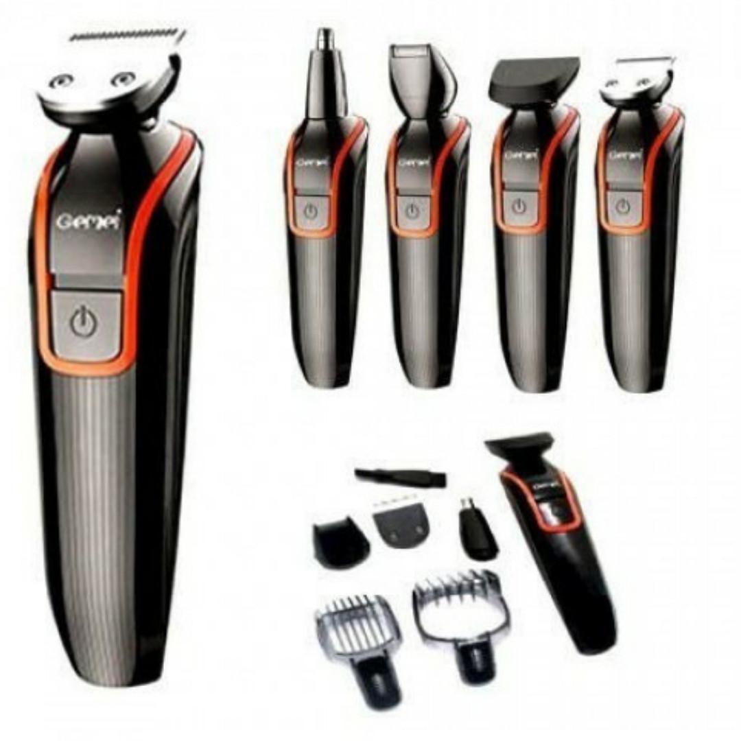 Машинка для стрижки Gemei GM 583 для волос,бороды,уха,носа