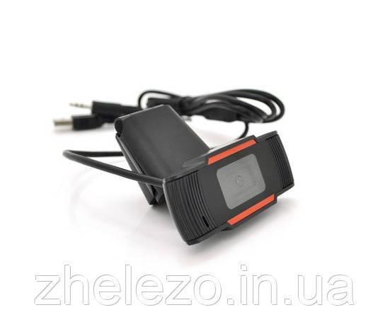 Веб-камера Merlion F37/18219, 480p, з гарнітурою Black, фото 2