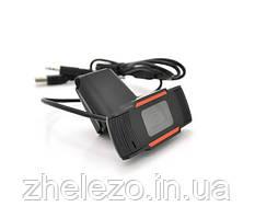 Веб-камера Merlion F37/18220, 720p, з гарнітурою Black