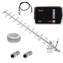 WiFi роутер 3G модем Novatel MiFi 4510L + антенна 17,5 дБ (дБи) + переходник + кабель