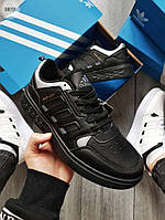 Мужские кроссовки Adidas Drop Step (черные) 580TP спортивные демисезонные кроссы на весну