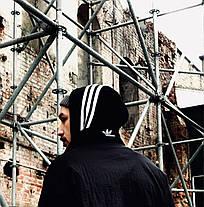 Вітровка Adidas Oversize Black/White, фото 3